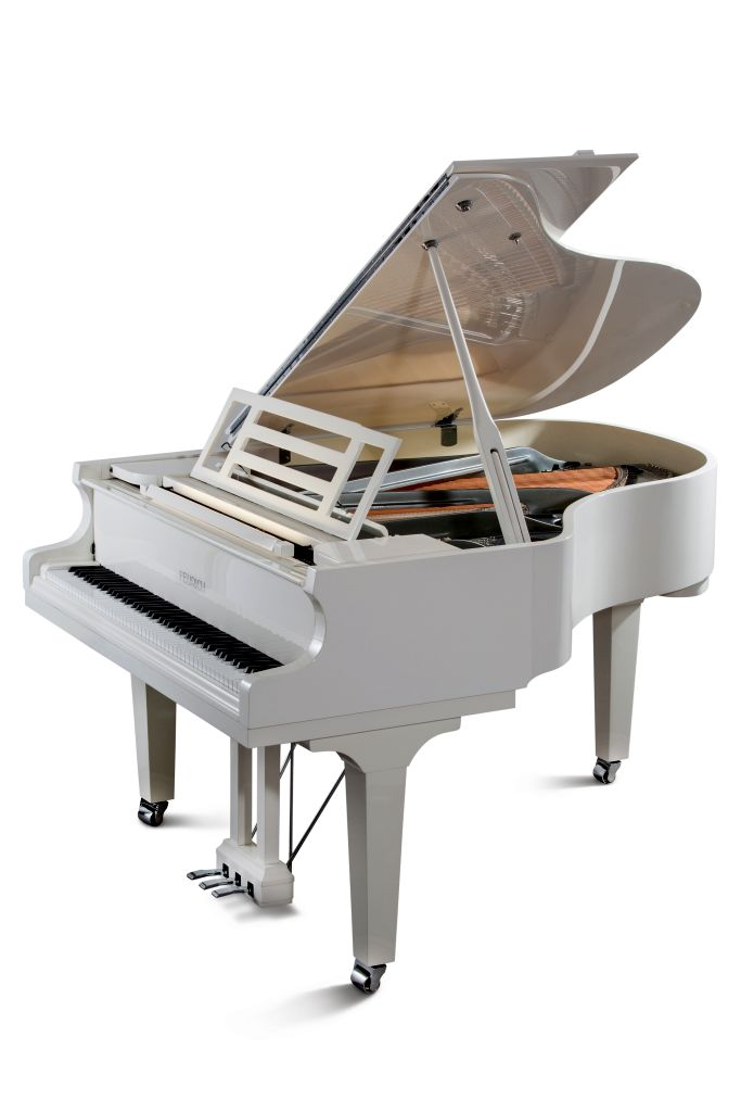 Mod  179 - Dynamic II #11CHwhite_chrome_web - Malta pianos